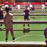 Futbolín de l'Hostal Nou / Table Football of the Hostal Nou / Baby-foot chez l'Hostal Nou